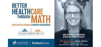 Better Healthcare Through Math, Episode 2, Wendy Webster